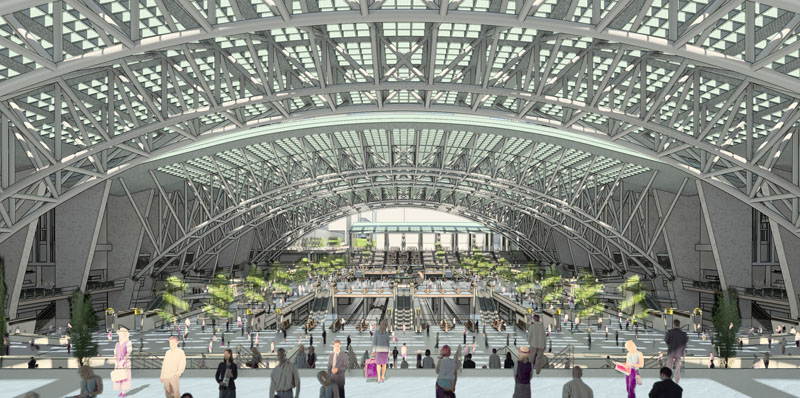 Arrival New York Penn Station A Vision For Renewing The