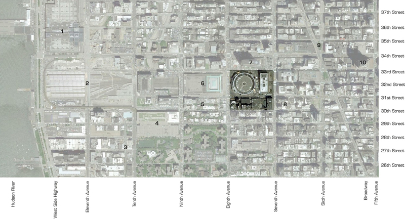 Fig. 2.07: Site Plan (Background: Google Maps)
