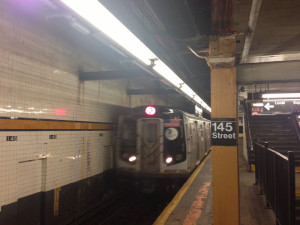 Fig. 2.19: MTA subway train at 145th Street