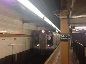 Fig. 2.19: MTA subway train at 145th Street
