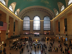 Fig. 3.14: The main concourse of Grand Central Terminal