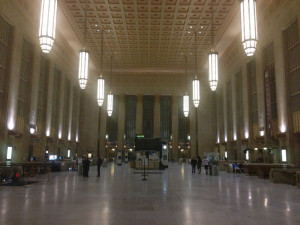 Fig. 3.15: The main concourse and waiting room of Philadelphia's 30th Street Station