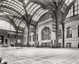 Fig. 3.16: Interior of the original Penn Station by McKim, Mead, and White