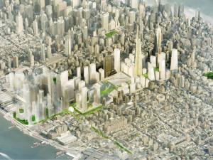 Fig. 3.20: Gotham Gateway by SHoP Architects