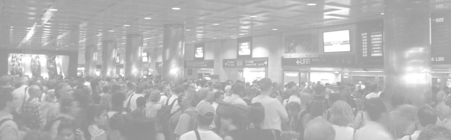 Arrival: New York Penn Station