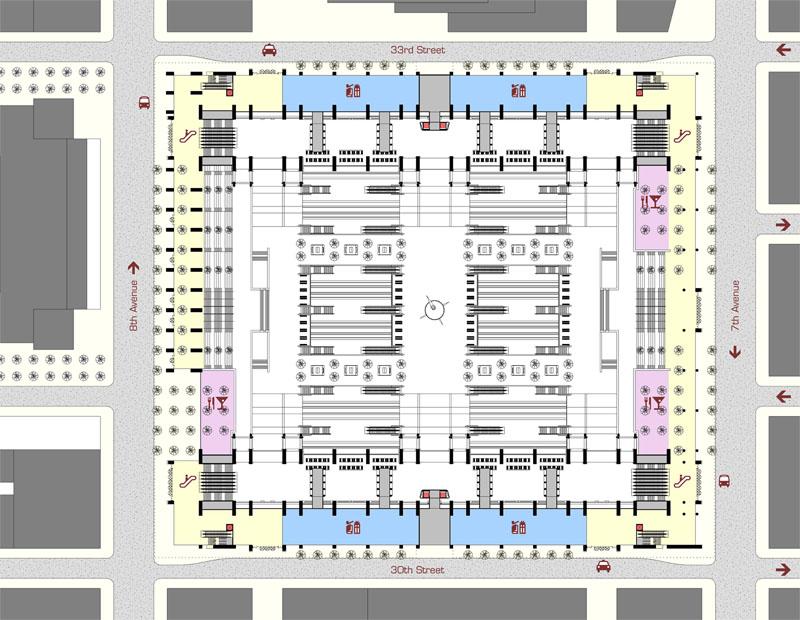 Fig. 4.15: Street Level Plan