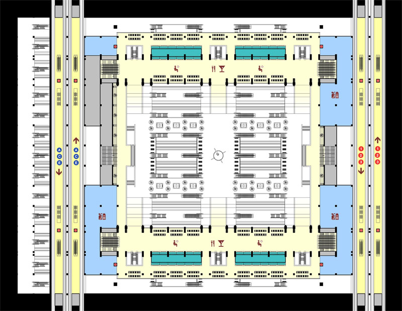 Fig. 4.16: Mezzanine Level Plan