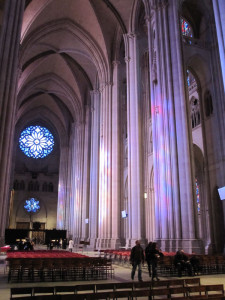 Fig. 4.23: The nave of the Cathedral of St. John the Divine, New York City