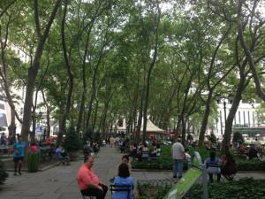 Fig. 4.29: Bryant Park, New York City