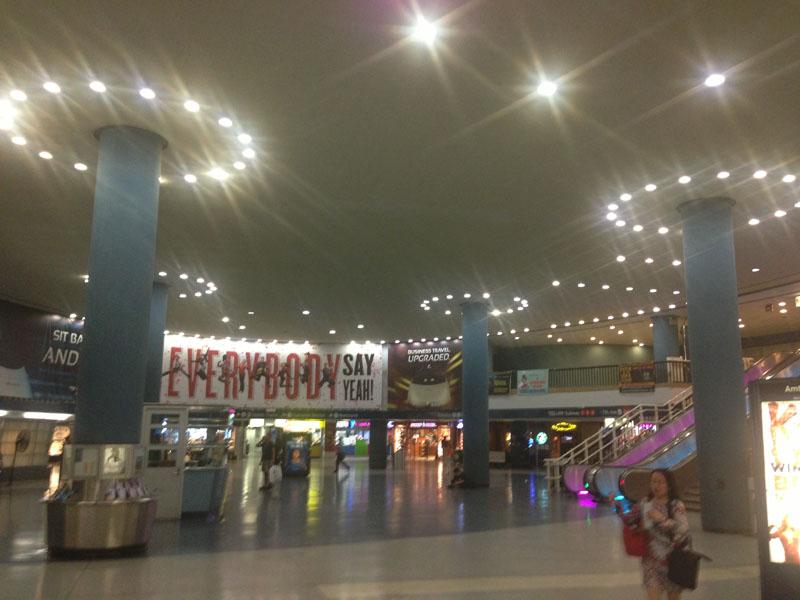 Fig. 7.15: Main concourse