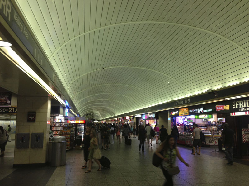 Fig. 7.16: Connecting concourse under 33rd Street